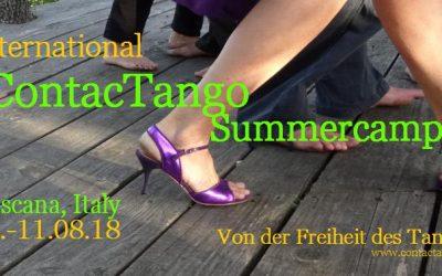 Contactango Summer Camp in Toscana, Italy